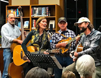 Prairie Sky at the Del mar Library January 2018